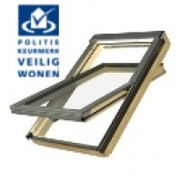 FAKRO FTP-V P2 Secure 10 114x118cm tuimelvenster hout Politiekeurmerk
