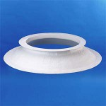 PVC opstand hoogte 16cm 16/25 rond 70cm