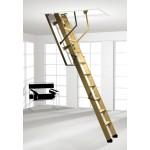 Zoldertrap 3 delig houten ladder