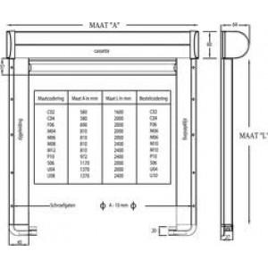 velux insectenhor zil voor de uk04 u04 804 134x98cm. Black Bedroom Furniture Sets. Home Design Ideas